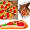 Необычная пицца - из мармелада!