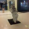 Настоящий космонавт в Central world