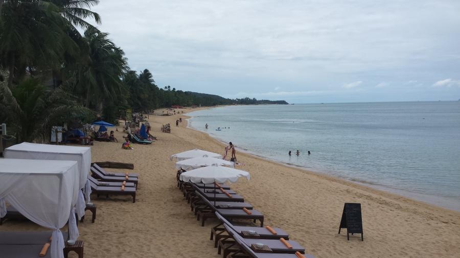 Остров Самуи, пляж Банг По