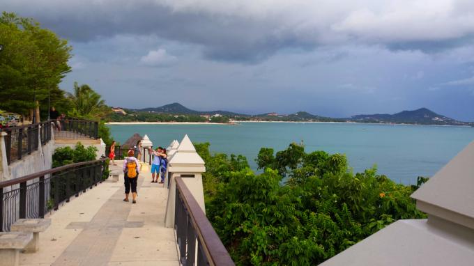Остров Самуи, обзорная площадка