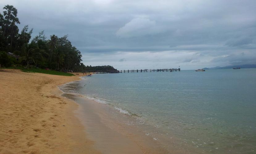 Остров Самуи, пляж Маенам