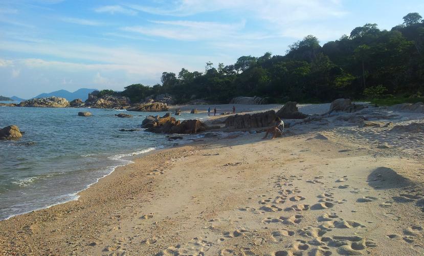 Остров Самуи, пляж одного отеля