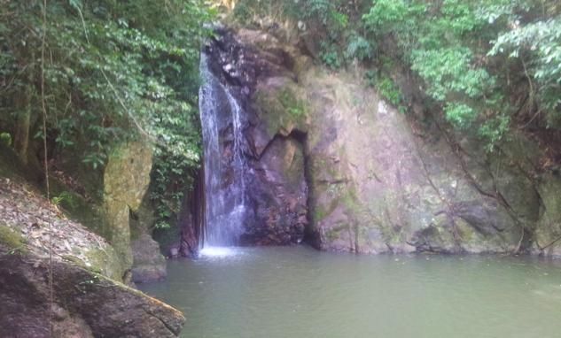 остров Самуи, водопад Namuang 2, последний уровень