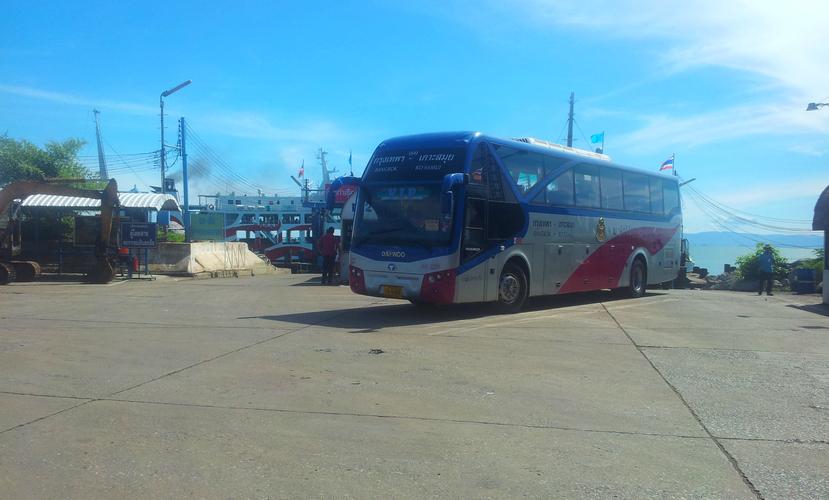 Автобус Самуи - Бангкок