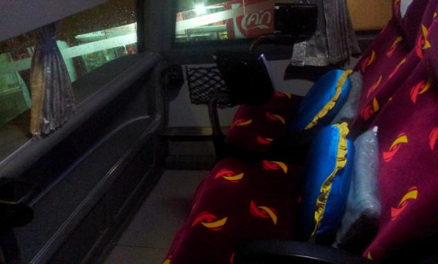 Автобусные места в автобусе Сомбат Тур из Бангкока в Чиангмай