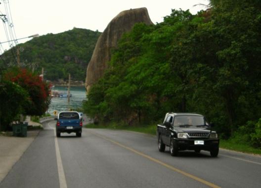 Остров Самуи, Слоновья скала