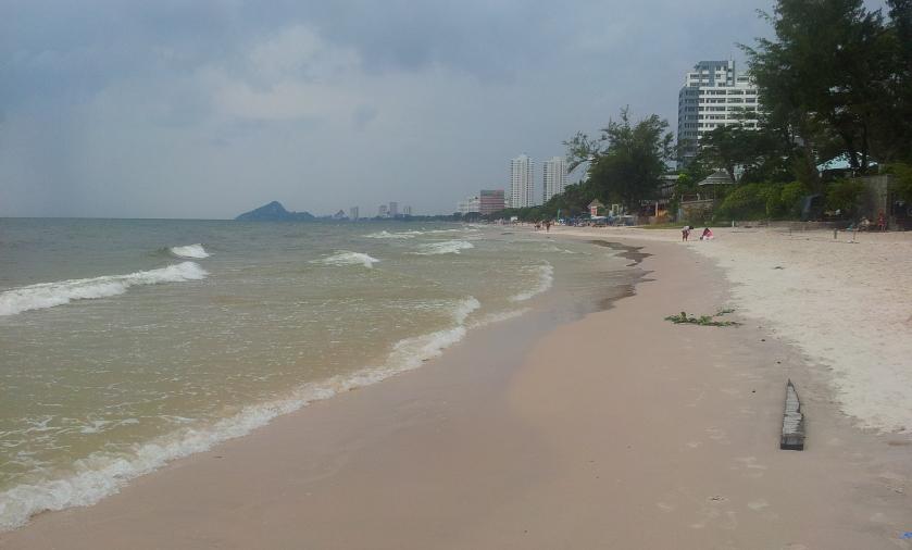 центральный пляж Хуахина