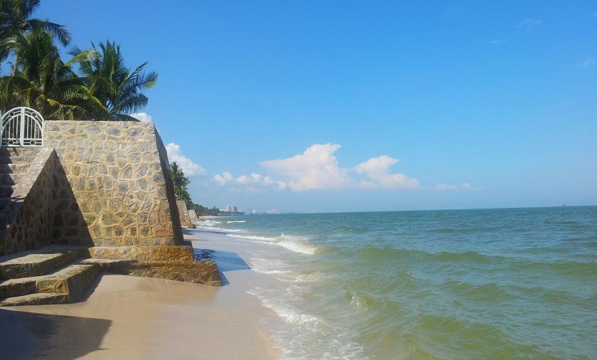 пляжи между северным и центральным пляжем