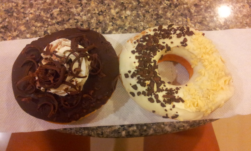 пончики в шоколаде из Теско Лотус