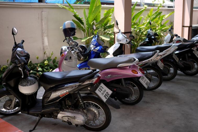 Мотобайк в аренду в Чиангмае