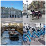 На чем можно совершать прогулки в центре Санкт-Петербурга?