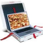 Новое изобретение для ноутбука – коробка из-под пиццы!!!
