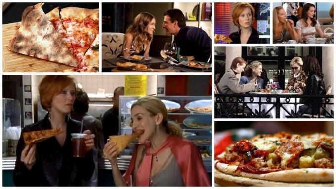 секс в большом городе и пицца