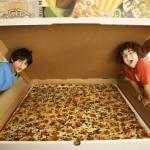 Огромная пицца на 100 человек!