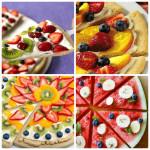 Как приготовить сладкую и фруктовую пиццу!