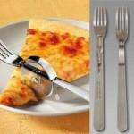 Новый прибор для культурного поедания пиццы!