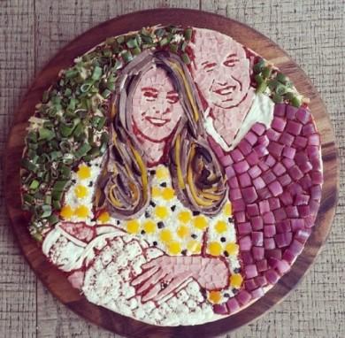 пицца для королевской семьи
