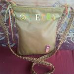 Кожаная сумка от Svetby