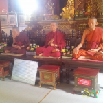 Восковые монахи в Чиангмае