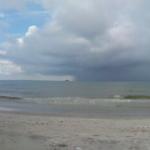 Погодное явление над морем