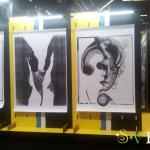 Выставка прямо в торговом комплексе