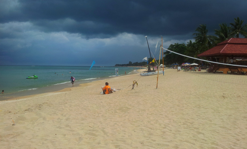 Остров Самуи, пляж Ламаи