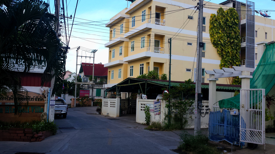 дом с апартаментами за 9500 бат в месяц