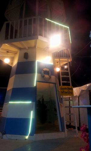 маяк в Хуахине, не настоящий