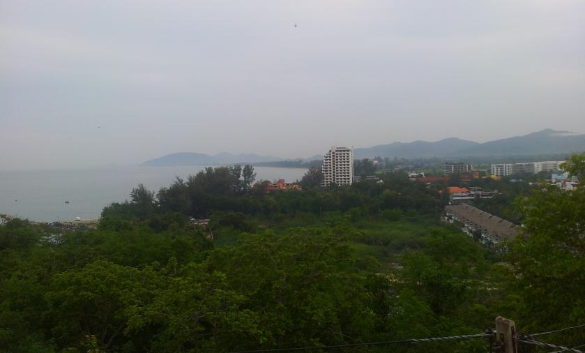 вид с горы Као Такиаб
