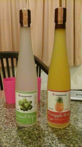 ананасовое и кокосовое вино, Хуахин