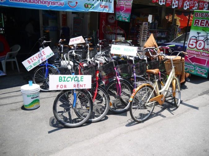 велосипеды в аренду в Чиангмае