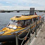 В Санкт-Петербурге начался сезон водного такси!