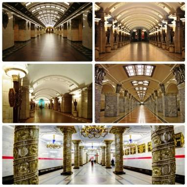 Станции метро Санкт-Петербурга