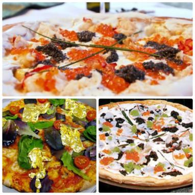 самые дорогие пиццы мира
