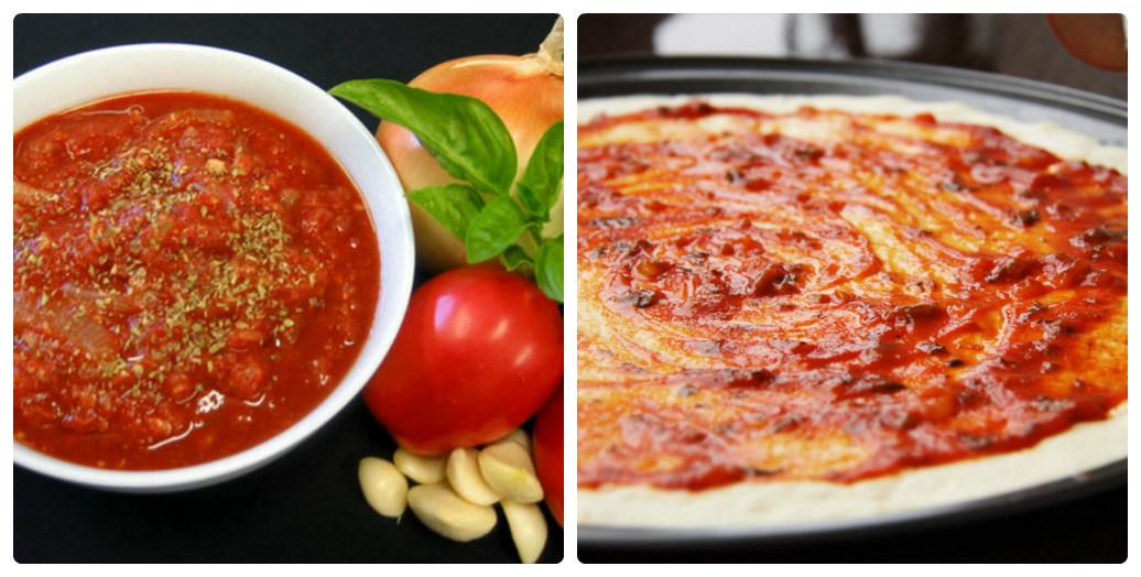 Рецепты томатных соусов для пиццы