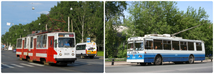 Троллейбус и трамвай Санкт-Петербурга