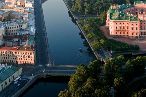 река Фонтанка, Санкт-Петербург