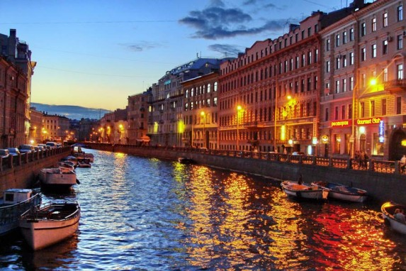 река Мойка, Санкт-Петербург