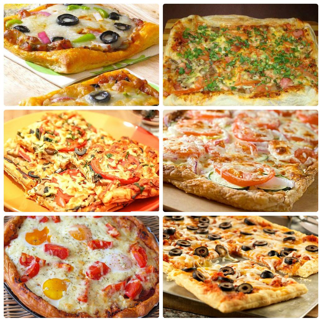 Пицца рецепт в домашних условиях самая простая