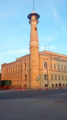 Пожарная часть на Охте, Санкт-Петербург