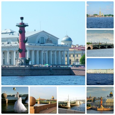 Стрелка Васильевского острова, Санкт-Петербург
