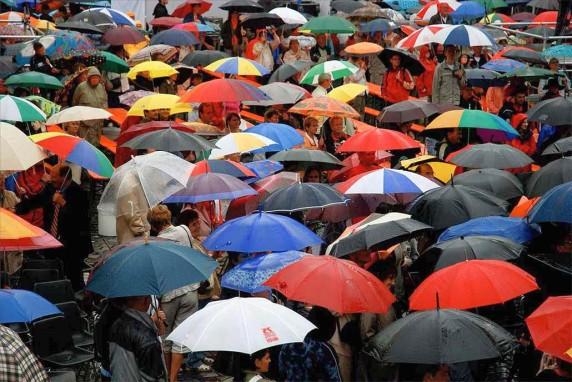 Дождь в Питере